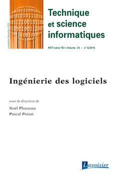 Couverture de l'ouvrage Technique et science informatiques RSTI série TSI Volume 34 N° 6/Novembre-Décembre 2015