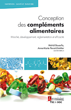 Couverture de l'ouvrage Conception des compléments alimentaires
