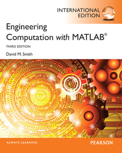 Couverture de l'ouvrage Engineering Computation with MATLAB (3rd Int. Ed.)