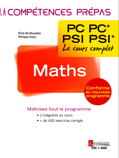 Cover of the book Maths 2e année PC PC* – PSI PSI*