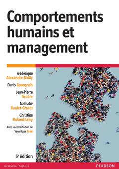 Couverture de l'ouvrage Comportements humains et management