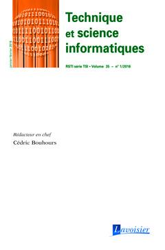Couverture de l'ouvrage Technique et science informatiques RSTI série TSI Volume 35 N° 1/Janvier-Février 2016
