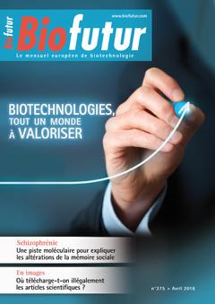 Couverture de l'ouvrage Biofutur N° 375 (Avril 2016)