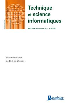Couverture de l'ouvrage Technique et science informatiques RSTI série TSI Volume 35 N° 2/Mars-Avril 2016