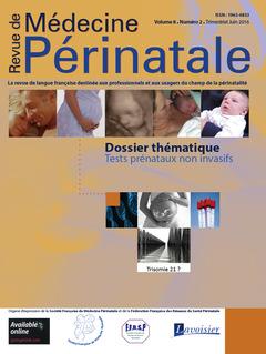 Couverture de l'ouvrage Revue de Médecine Périnatale - Vol. 8 n°2/Juin 2016