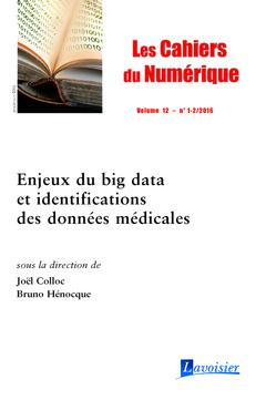 Couverture de l'ouvrage Enjeux du big data et identifications des données médicales