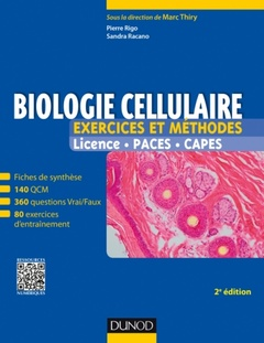 Cover of the book Biologie cellulaire (2°  Éd.)