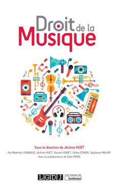 Couverture de l'ouvrage Droit de la musique