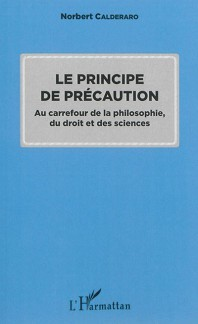Couverture de l'ouvrage Principe de précaution