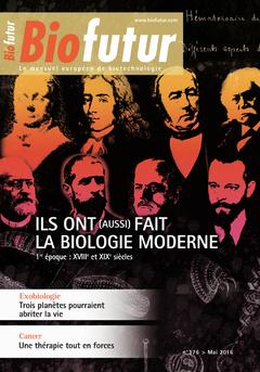 Couverture de l'ouvrage Biofutur N° 376 (Mai 2016)