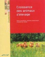 Couverture de l'ouvrage Croissance des animaux d'élevage