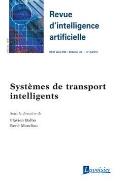 Couverture de l'ouvrage Revue d'intelligence artificielle RSTI série RIA Volume 30 N° 3/Mai-Juin 2016