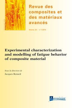 Couverture de l'ouvrage Revue des composites et des matériaux avancés Volume 26 N° 1/Janvier-Mars 2016