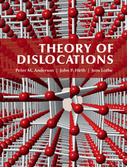 Cover of the book Theory of Dislocations