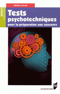 Couverture de l'ouvrage Tests psychotechniques pour préparation aux concours
