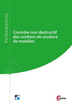 Couverture de l'ouvrage Contrôle non destructif des cordons de soudure de mobilier (Réf : 9Q273)