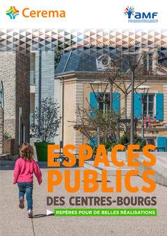 Couverture de l'ouvrage Espaces publics des centres-bourg