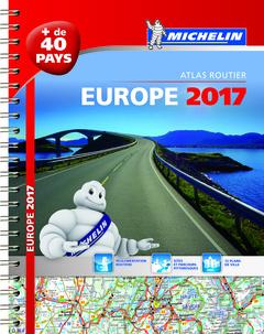 Couverture de l'ouvrage Europe. Atlas routier 2017