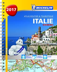 Couverture de l'ouvrage Italie 2017 - Atlas routier et touristique