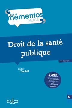 Cover of the book Droit de la santé publique