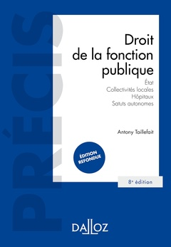 Couverture de l'ouvrage Droit de la fonction publique.
