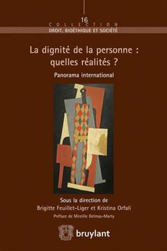 Couverture de l'ouvrage La dignité de la personne : quelles réalités ?
