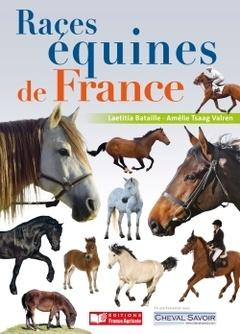 Couverture de l'ouvrage Races équines de France