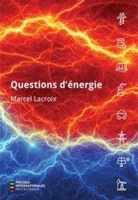 Couverture de l'ouvrage Questions d'énergie