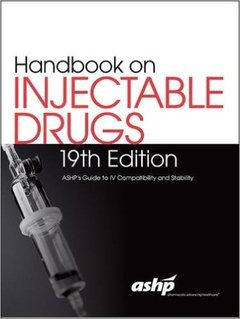 Couverture de l'ouvrage Handbook on Injectable Drugs