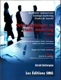 Couverture de l'ouvrage Outils statistiques en études marketing Avec CD-ROM.