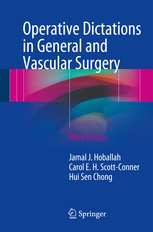 Cover of the book Operative Dictations in General and Vascular Surgery
