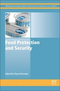 Couverture de l'ouvrage Food Protection and Security