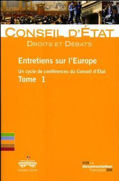 Couverture de l'ouvrage Entretiens sur l'Europe