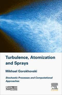 Couverture de l'ouvrage Turbulence and Atomization and Sprays