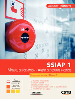Couverture de l'ouvrage SSIAP 1