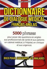 Couverture de l'ouvrage Dictionnaire de dialogue médical français-anglais/anglais-français