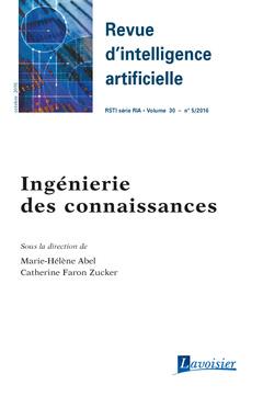Couverture de l'ouvrage Revue d'intelligence artificielle - RSTI série RIA - Volume 30 - n° 5/Octobre 2016