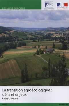 Couverture de l'ouvrage La transition agroécologie : défis et enjeux