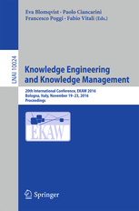 Couverture de l'ouvrage Knowledge Engineering and Knowledge Management