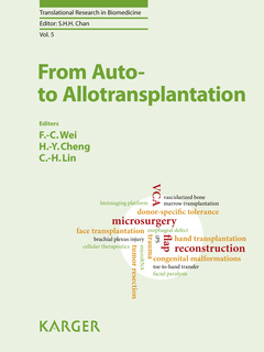Couverture de l'ouvrage From Auto- to Allotransplantation