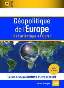 Couverture de l'ouvrage Géopolitique de l'Europe