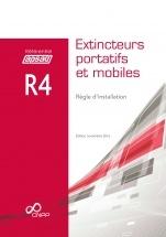 Couverture de l'ouvrage Extincteurs portatifs et mobiles. Règle d'installation (Référentiel APSAD R4)