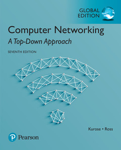 Couverture de l'ouvrage Computer Networking: A Top-Down Approach - Global Edition
