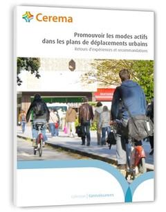 Couverture de l'ouvrage Promouvoir les modes actifs dans les plans de déplacements urbains