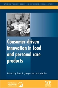 Cover of the book Consumer-Driven Innovation in Food and Personal Care Products