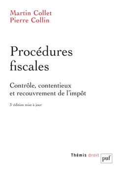 Couverture de l'ouvrage Procedures fiscales (3ed)