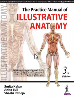 Couverture de l'ouvrage The Practice Manual of Illustrative Anatomy (3rd Ed.)