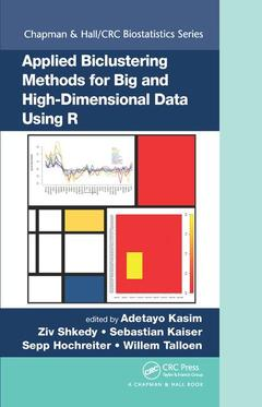 Cover of the book Applied Biclustering Methods for Big and High-Dimensional Data Using R