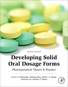 Couverture de l'ouvrage Developing Solid Oral Dosage Forms