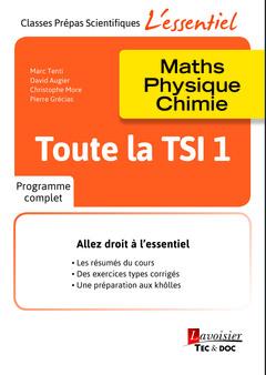 Couverture de l'ouvrage Toute la TSI 1